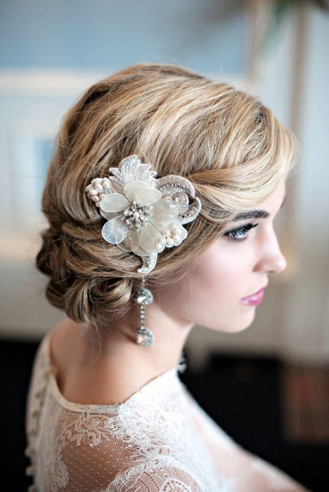 Peinados para novias 50 recogidos bajos espectaculares Bodas  - Peinados De Novia Moños Bajos