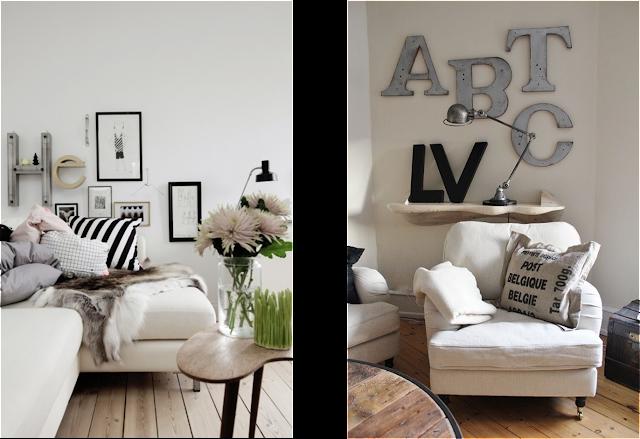 Decora tus rincones 10 ideas para decorar con letras y - Decorar rincones ...