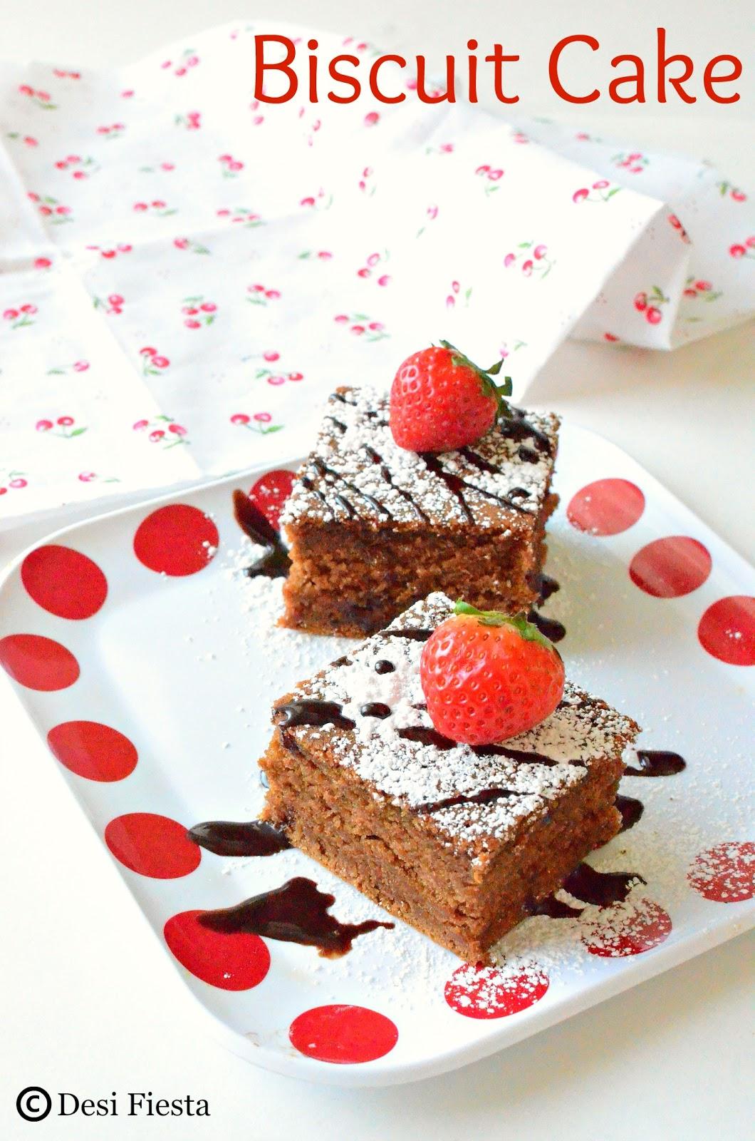 Instant cake recipe