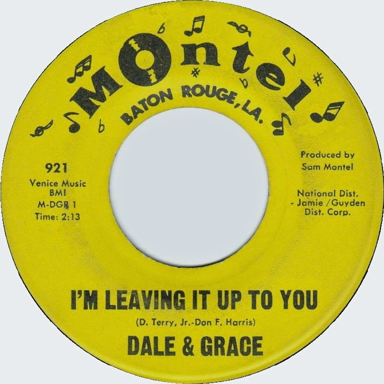 Dale Grace Im Leaving It Up To You Thats What I Like About You