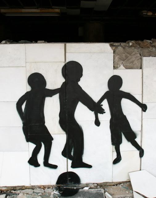 граффити в Припяти