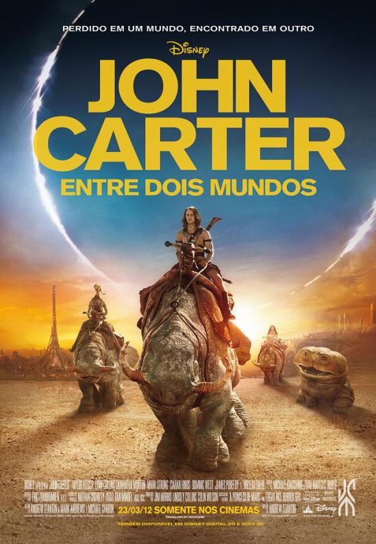 John Carter: Entre Dois Mundos   Dublado Download