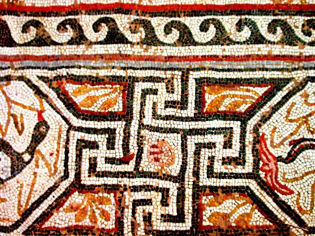 Heraclea Lyncestis Mosaic Detail