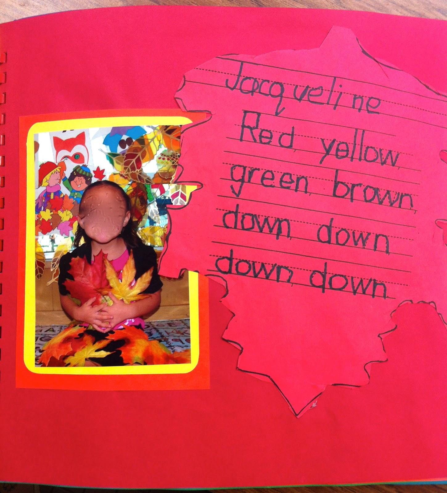 Kindergarten Poetry Book Cover : Kfundamentals kindergarten memory books