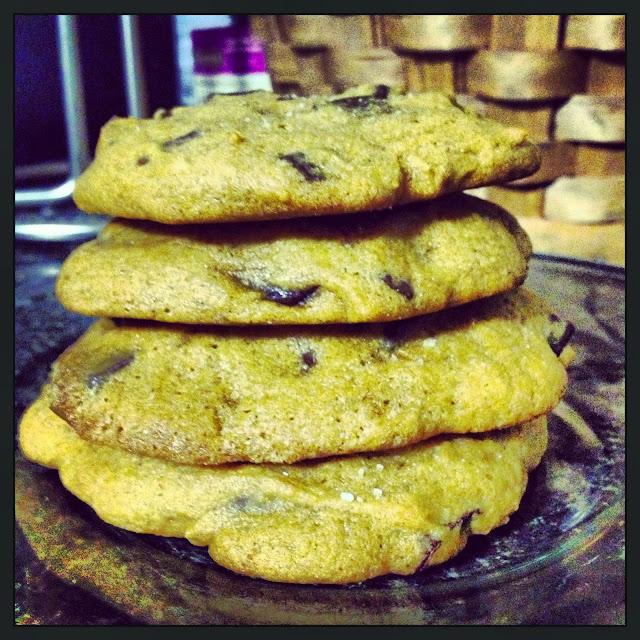 Free the Flavor: Salted Pumpkin Chocolate Chunk Cookies