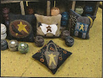 primitive pin cushions