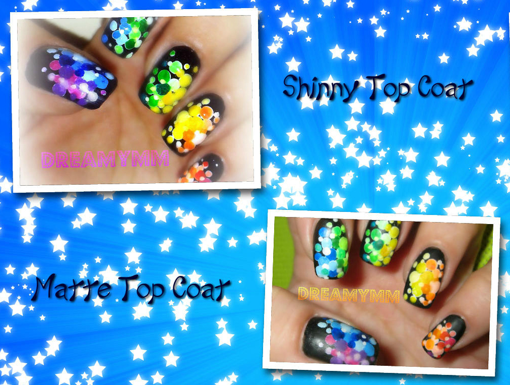 Simple Rainbow Illusion Nail Art With Diy Dotting Tool Dreamymm