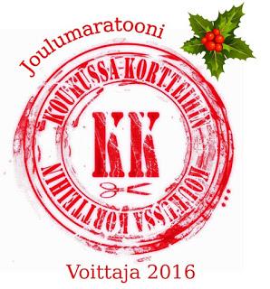 Koukussa kortteihin joulumaratooni 2016