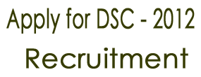 DSC Online Application 2012