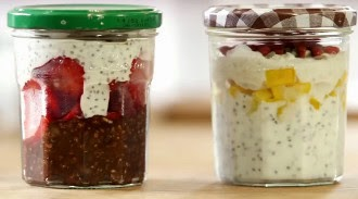 Overnight Oats com chia
