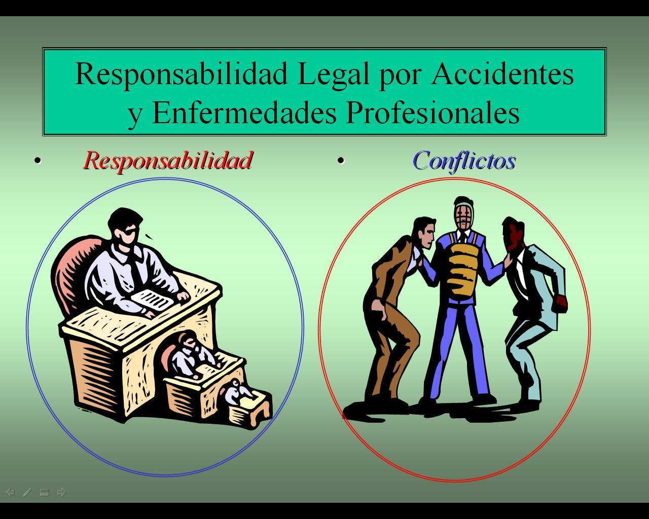 Responsabilidad legal responsabilidad institucional for Responsabilidad legal