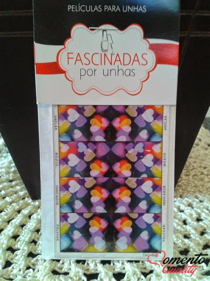 Esmalte da Semana Tereza Cristina Colorama e Películas de Unhas Fascinadas por Unhas