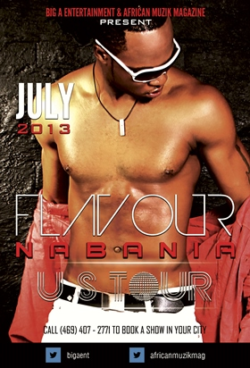 Flavour Nabania preparing for US Tour