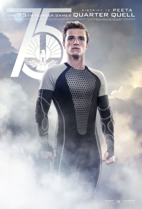 Peeta Catching Fire Movie Poster