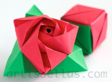 The Magic Rose Cube