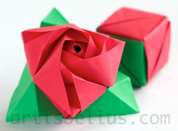 The Magic Rose Cube