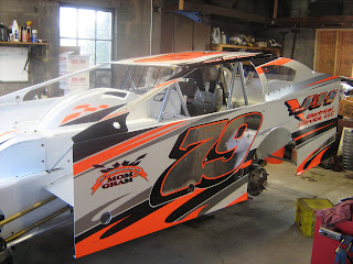 Club wago 39 s dirt racing blog hartnett paint schemes for Dirt track race car paint schemes