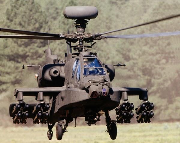 Penempatan Dua Apache di Kaltim Tak Ideal