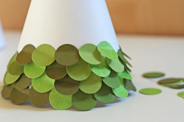 Как из бумаги сделать елку своими руками фото