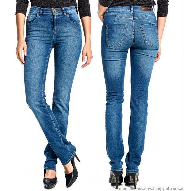 Moda otoño invierno 2015 moda jeans.