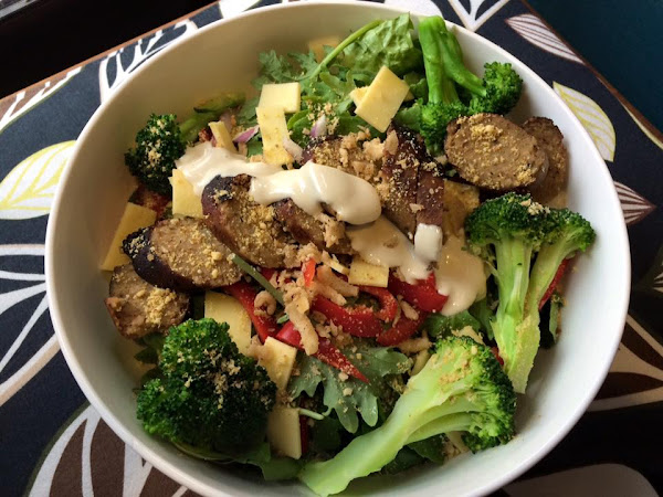 The Vegan Mouse: The Salads In My Life.