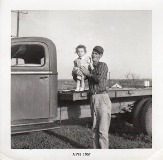 Grandpa - Vickie - 1957