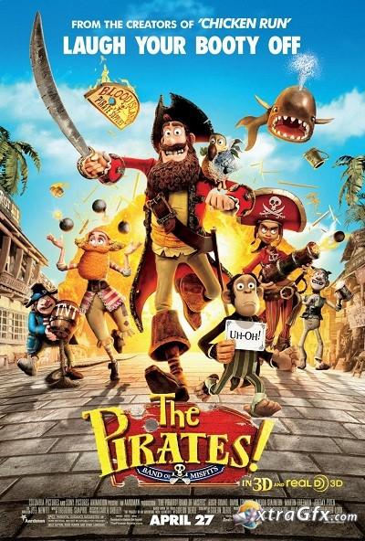 The Pirates! Band Of Misfits / Пиратите! Банда неудачници (2012) (BG Audio)