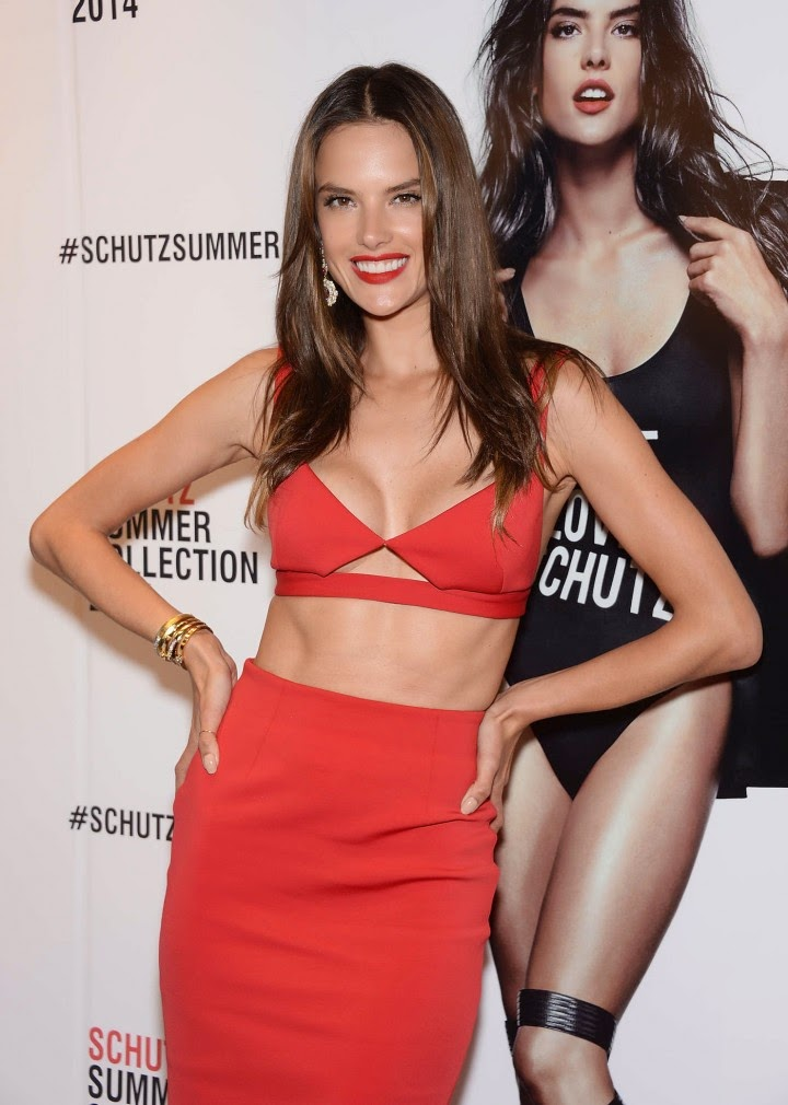 Alessandra Ambrosio – 2014 Schutz Summer Collection Launch in NY