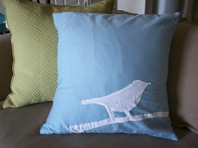 make bird pillow