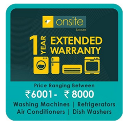 Amazon :  Buy Upto 99% Off on Onsite 1-year extended warranty for Large Appliance : Buy To Earn
