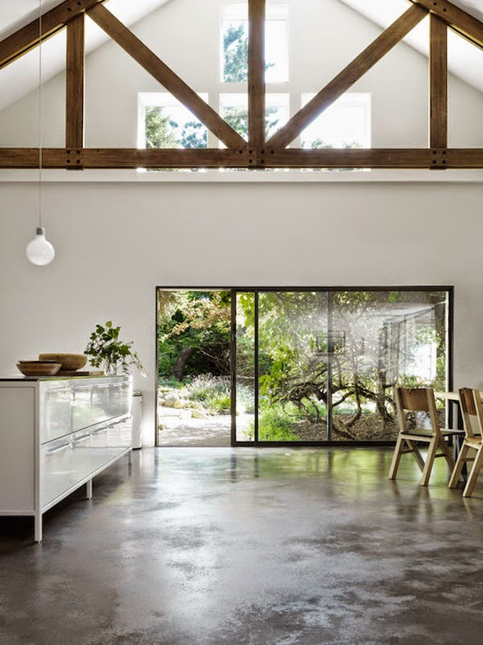 Concrete floors and Vipp perfection