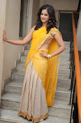 Nanditha raj latest photos in half saree-thumbnail-2