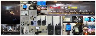 Tempat sewa harga murah Sewa, HT, Handy Talky, Di Summarecon, Bekasi, Rental, Screen, LCD, Projector, Infocus
