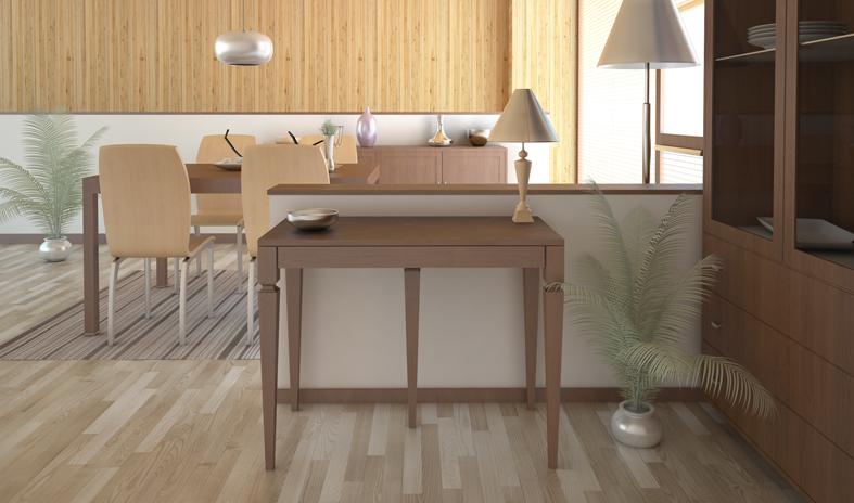 Lg lesmo tavoli consolle allungabili riconfigurare lo - Tavoli a consolle allungabili classici ...