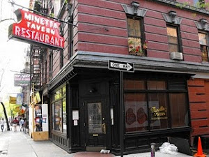 "MINETTA TAVERN .... READ ABOUT MINETTA TAVERN And ITALIAN in GREENWICH VILLAGE in ""La TAVOLA"""