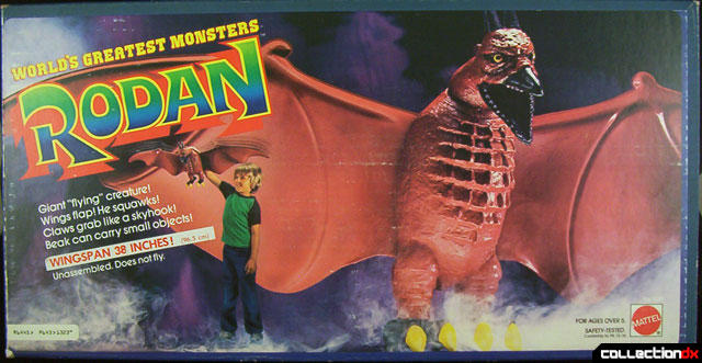 7bb4e464bbc This toy was epic. It was HUGE - it could gobble up anyone from  Transformers to Star Wars characters to Masters of the Universe. NO ONE  COULD STOP RODAN!