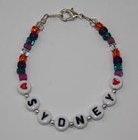 letter beads, Sydney