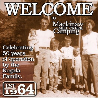 Mackinaw Mill Creek Camping turns 50 years old today!
