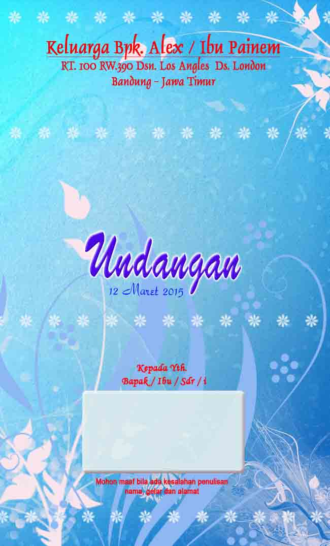 FREE DOWNLOAD BACKGROUND UNDANGAN PERNIKAHAN