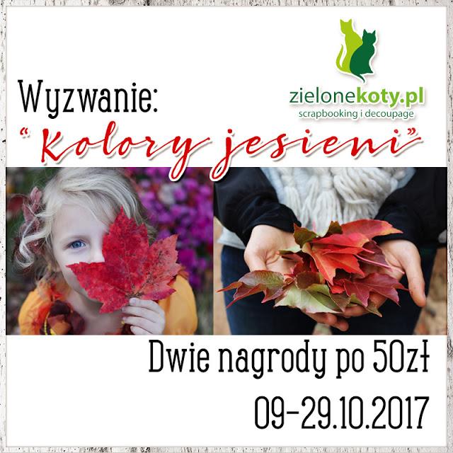 wyzwanie kolory jesieni - 29.10