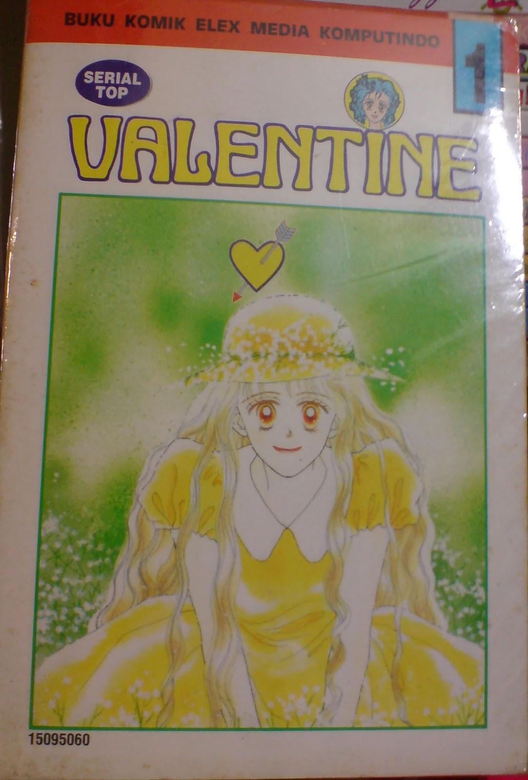 Komik Lama Jepang Valentine