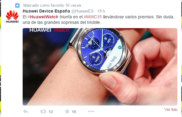 comprar huawei watch