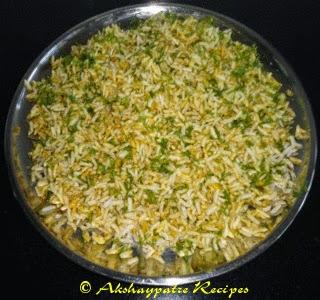 other ingredients mixed with mandakki