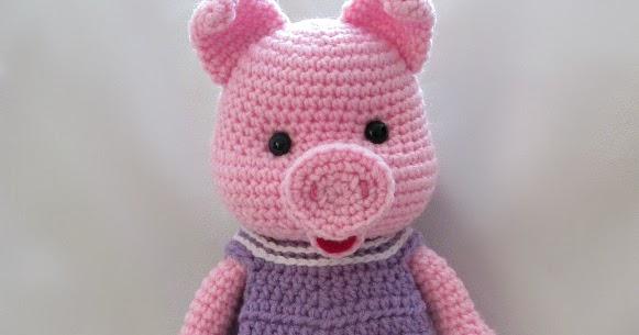 Pig Amigurumi To Go : Pigs and Dresses ~ Amigurumi To Go