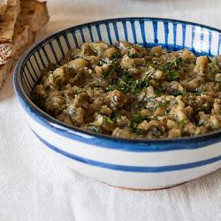 Melitzanosalata, grčki umak od pečenog patlidžana