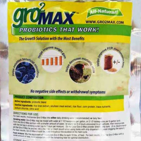 A package of Gro2Max Probiotics!
