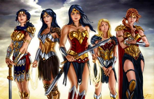 Diseños amazonas Wonder Woman