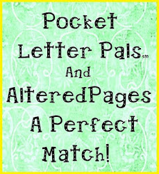 Pocket Letter Pals and Altered Pages