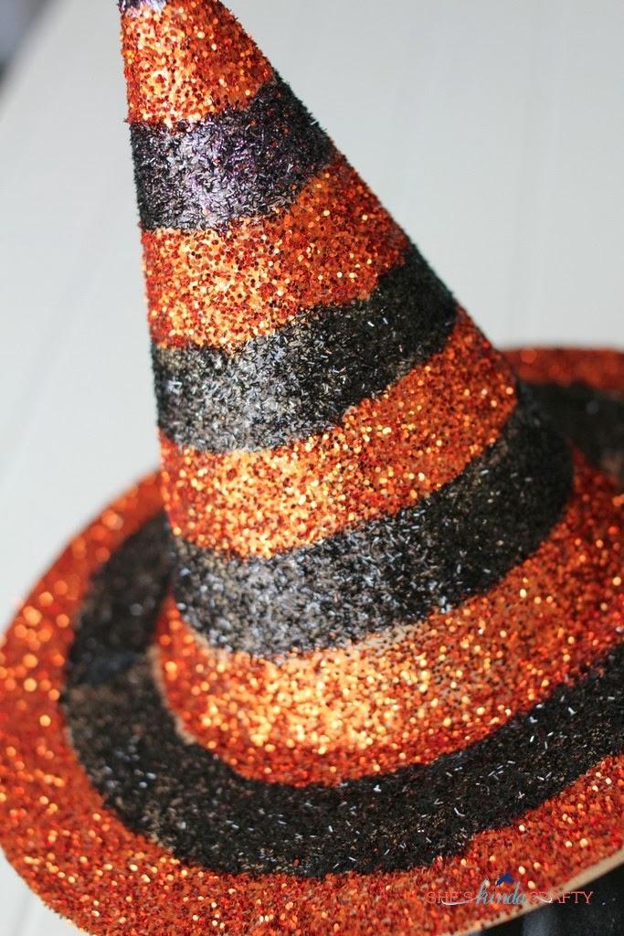 Easy Glitter Witch Hat & Easy Glitter Witch Hats - Shes kinda Crafty