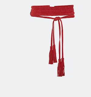 Anoushka high waisted leather belt